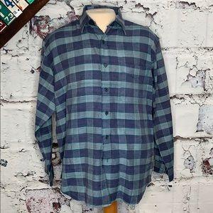 Polo Ralph Lauren silk cotton shirt L